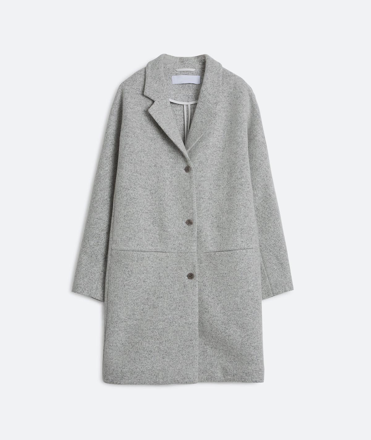 Light Felt Coat